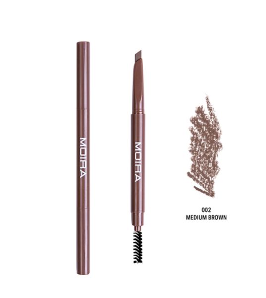 Dual Brow Pencil - Medium Brown