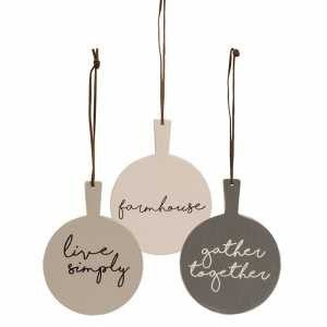 Cutting Board Ornaments - 3 Designs