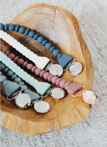 Sweetie Strap™ Silicone One-Piece Pacifier Clip