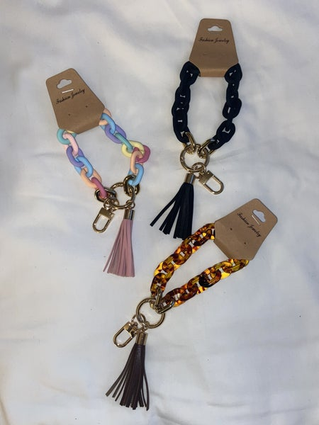 Chain Keychain W/ Tassel