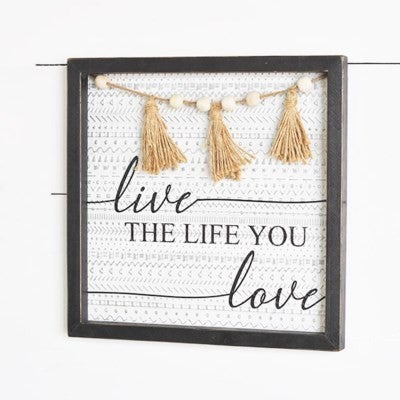 LIVE LIFE LOVE SIGN