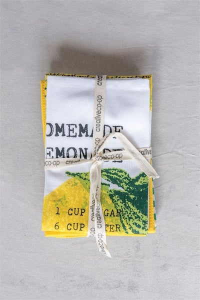 Lemonade Tea Towel Set