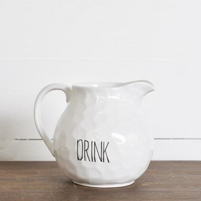 "6"" ""DRINK"" PITCHER"