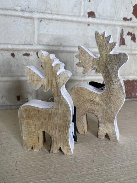 White Edge Deer