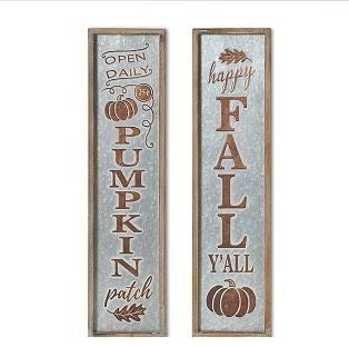 """27""""H Harvest Wall Sign"""