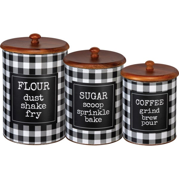 Canister  - Flour Sugar Coffee