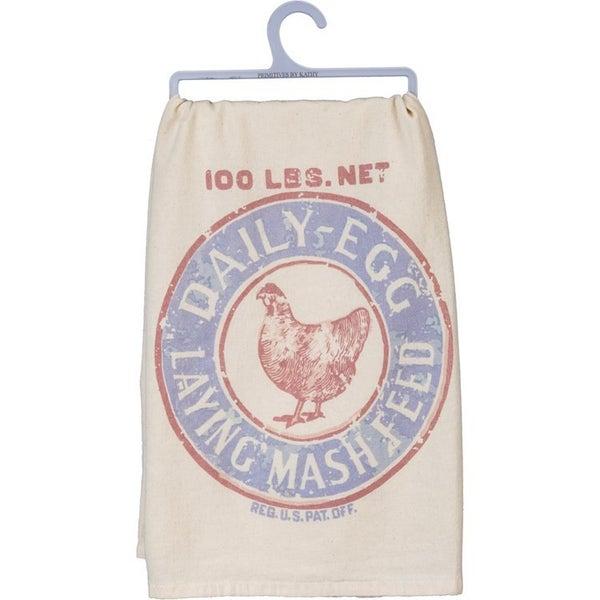 Dish Towel - Scratch Feed