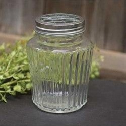 Clear Jar w/ Frog Lid