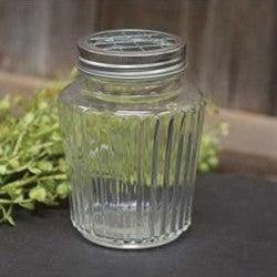 Clear Jar w/ Frog Lid