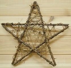 Mesh Grapevine Star