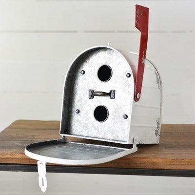 White Mailbox Birdhouse