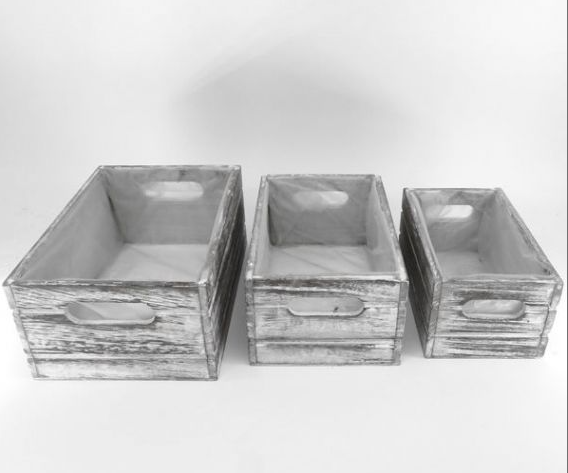 Square Wood Planter - 3 Sizes