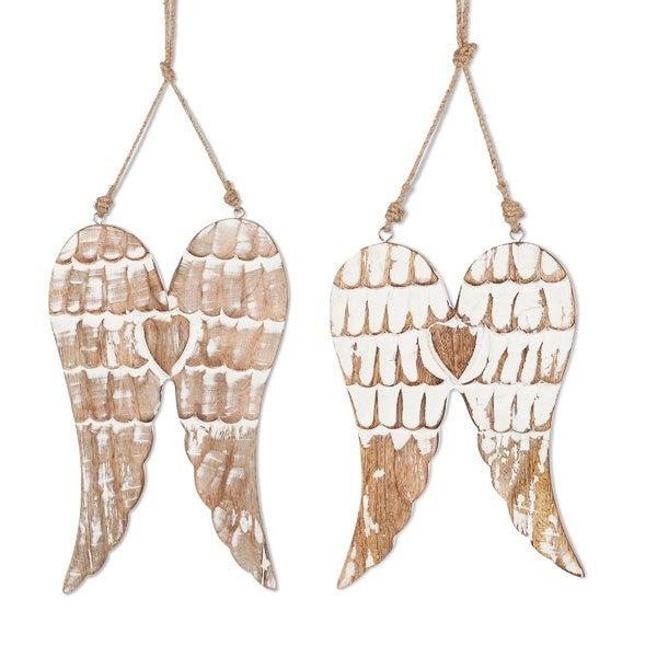 Mango Wood Hanging Wings