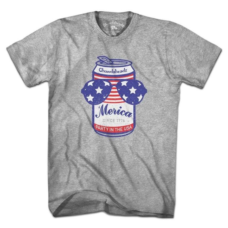 Patriotic Beer Can T-Shirt