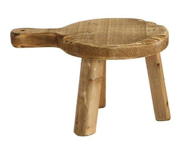 Wood Pedestal - Round