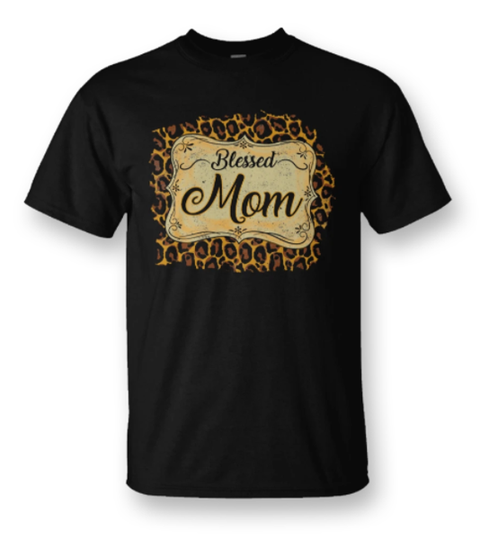 BLESSED MOM TEE