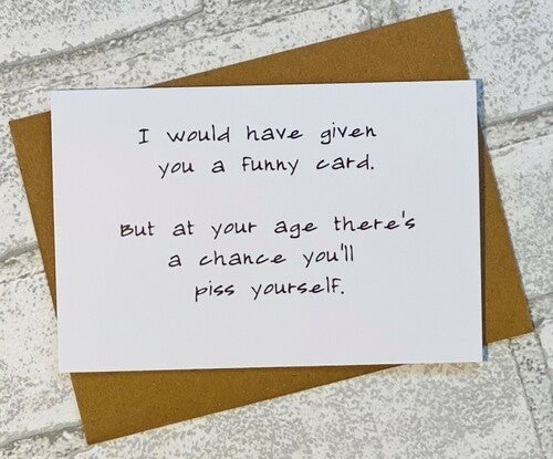 FUNNY CARD