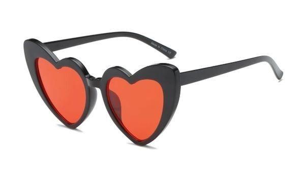Women Heart Shape Fashion Sunglasses