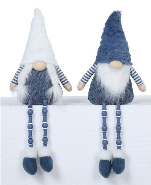 Plush Blue Gnomes With Button Legs