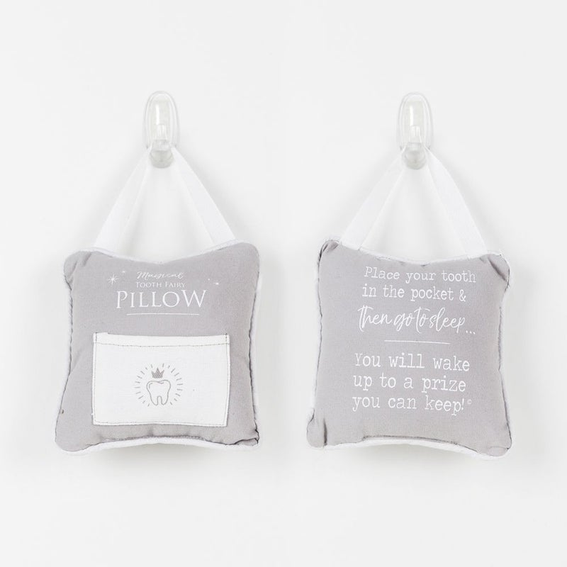 Double-Sided Hanger Pillow (Magical Tooth Fairy/Go To Sleep)
