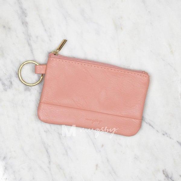 Coral Key Ring Wallet