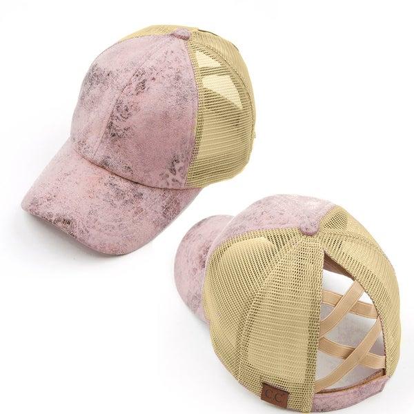 CC Mauve Sparkle Hat