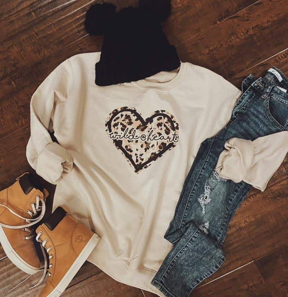 Wild At Heart Sweatshirt