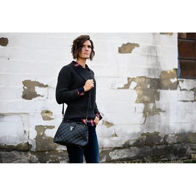 Luxury Quilted Handbag