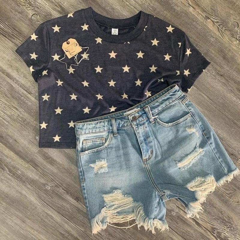 Star Crop Top