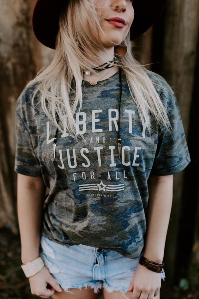 Liberty & Justice T-Shirt