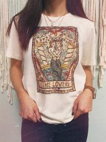 The Lovers Tarot Card Tee
