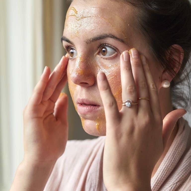 cleansing face balm jar