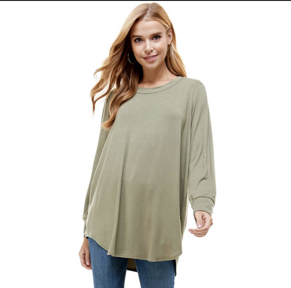 long sleeve olive layer