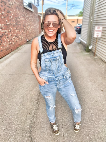 hillbilly style overalls