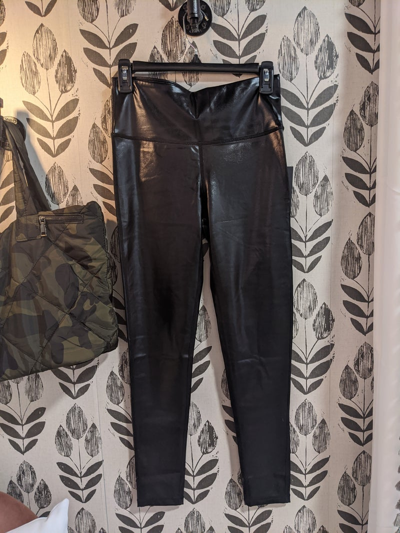 leather hottie leggins {2x + 3x}