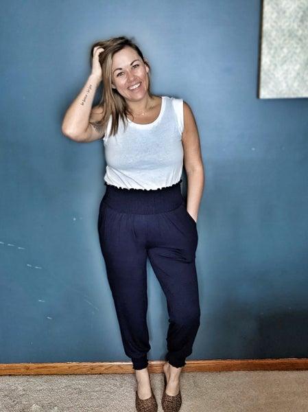 pantaloon pant {with pockets}