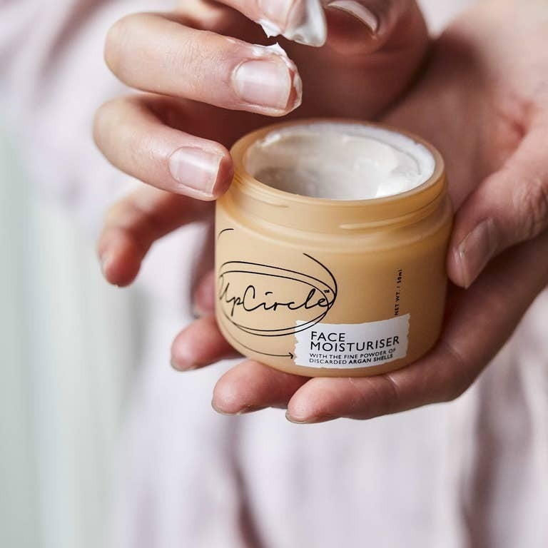 face moisturizer jar {with argan}