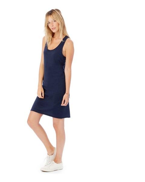tate tank dress {navy}