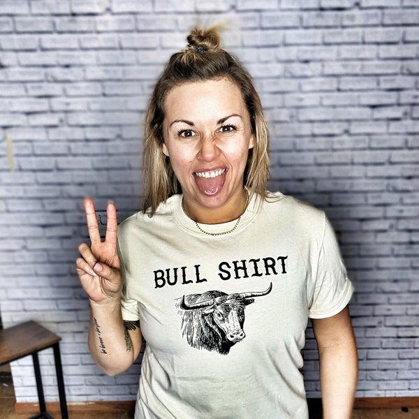bull shirt graphic