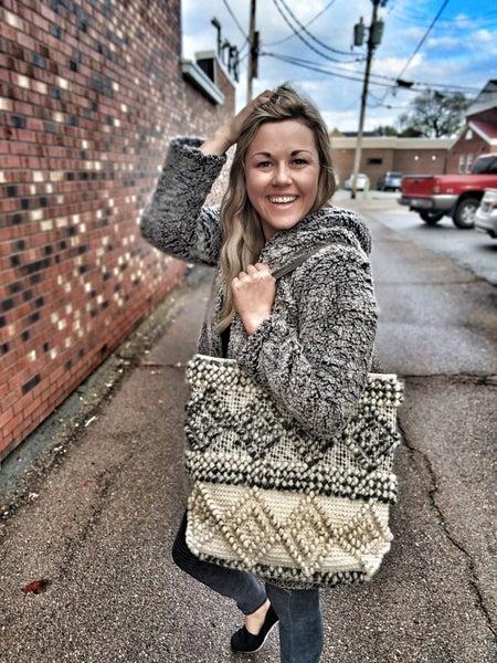 mama sized canvas bag