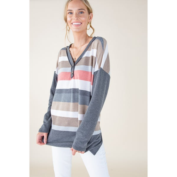 lindy stripe tunic
