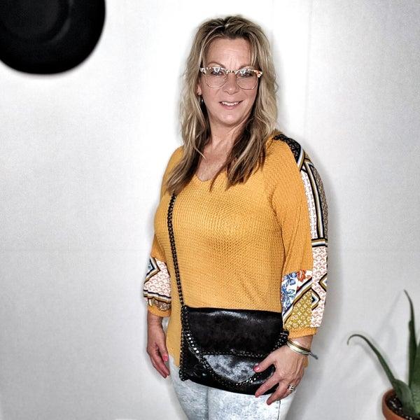 lola aztec blouse