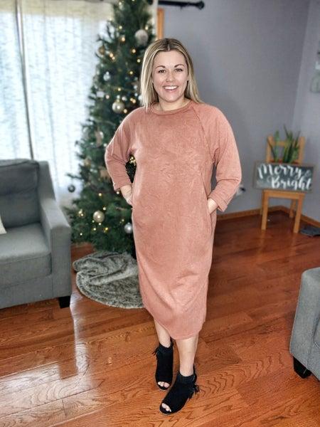 jessa sweater dress {s+m}