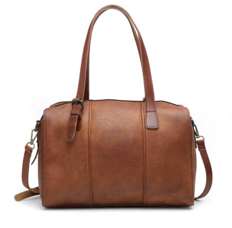 roz rustic satchel