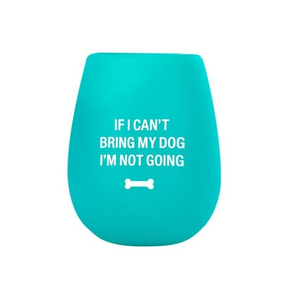 dog lover wine cup