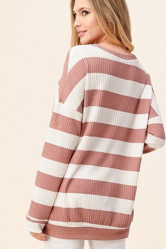 spring stripe top
