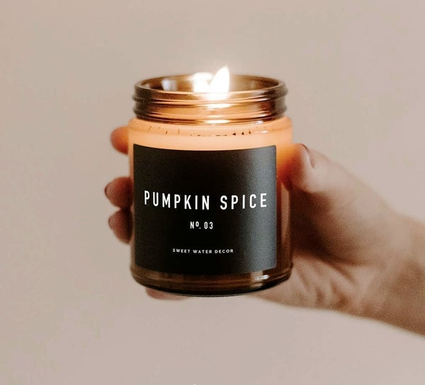 fall candle {oils + soy based}