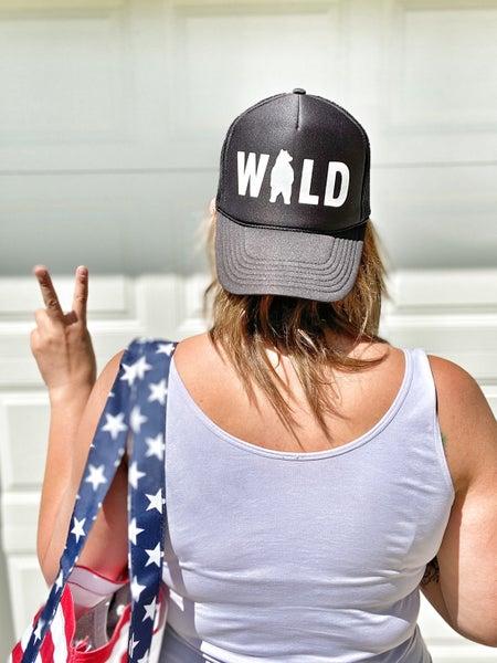wild babe trucker hat