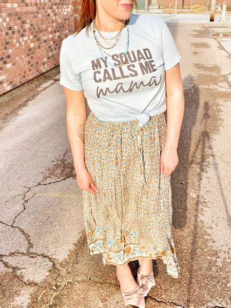 Mary Kate floral skirt *Final Sale*