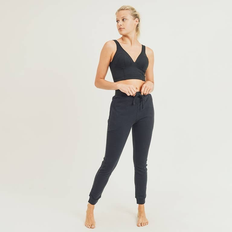 corset sports bra